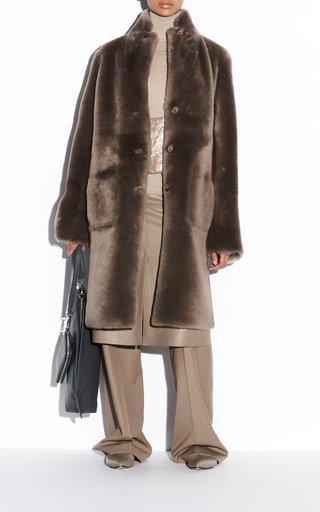 Britanny Sheepskin Coat