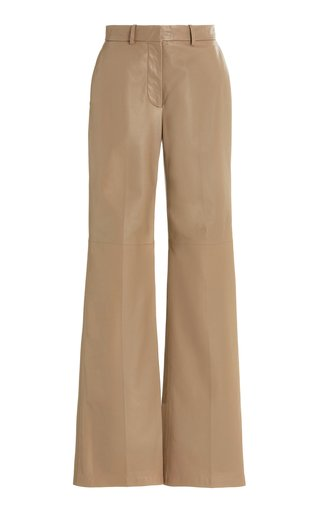 Morissey Flared Leather Pants