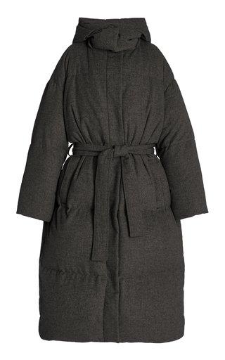 Celida Wool-Cashmere Blend Puffer Coat