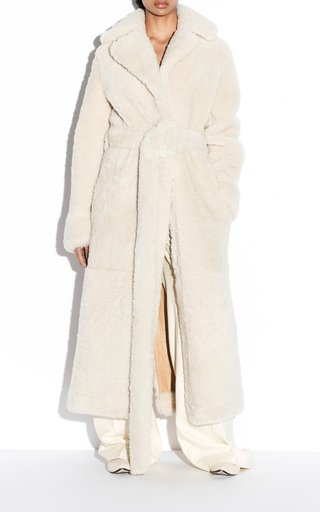 Catrin Soft Merino Sheepskin Coat