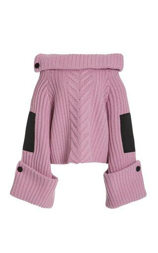 Missy Wool-Cashmere Boatneck Sweater
