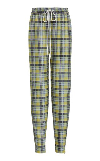 Preston Tapered Silk Pants