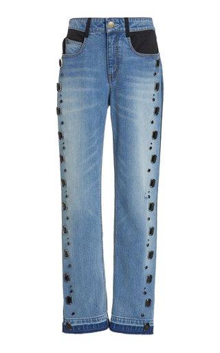 Tucker Embellished Boyfriend Jeans