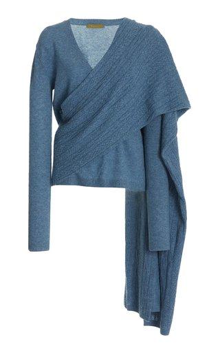 Colt Draped V-Neck Sweater