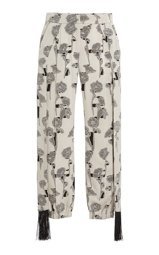 Ridge Floral Tapered Pants