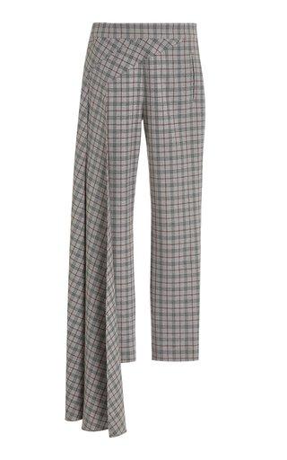 Nasir Checkered Cigarette Pants