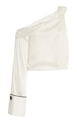 Savannah Asymmetric-Sleeve Top
