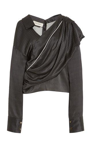 Halsey Draped Silk Top
