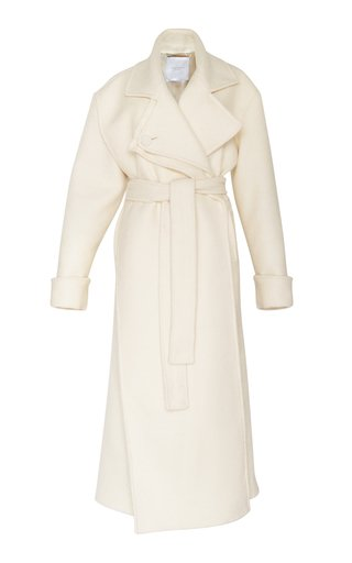 Equinox Blanket Wool-Blend Coat