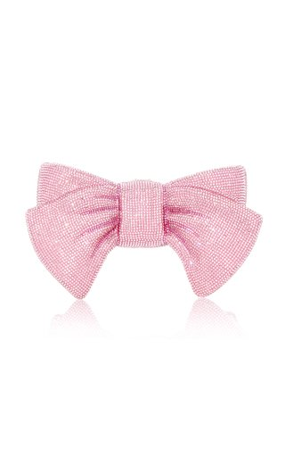 Just For You Crystal Bow Novelty Clutch