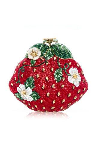 Strawberry Crystal Novelty Clutch