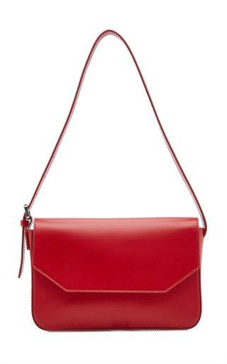 Manu Leather Shoulder Bag