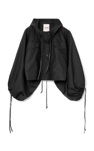 Jira Cropped Hooded Windbreaker