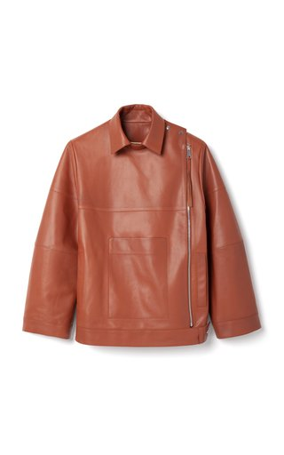Viva Boxy Leather Jacket