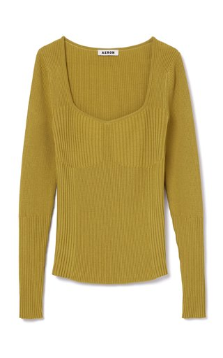 Deven Ribbed Knit Top