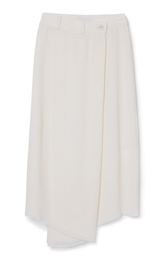 Epoque Cupro Wrap Skirt
