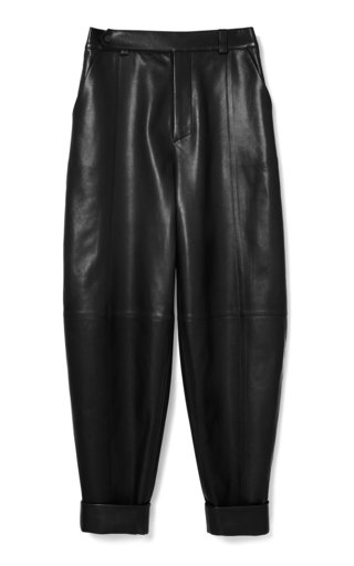 Imago Balloon Leather Pants
