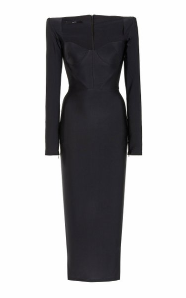Lennon Jersey Midi Dress