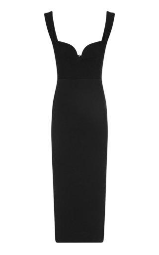 Spencer Stretch Crepe Midi Dress