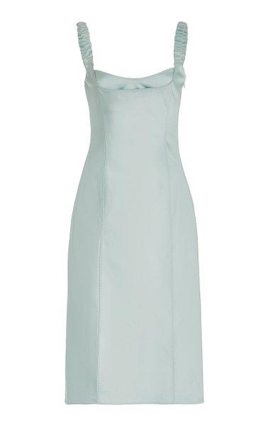 Stella Satin Bustier Dress