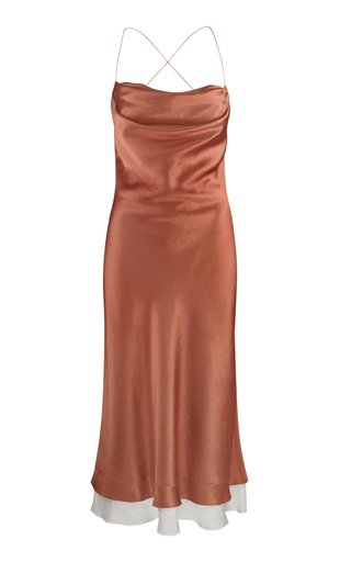 Dasha Satin Slip Dress