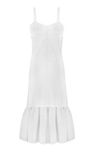 Kezie Ruffle-Detailed Jersey Dress