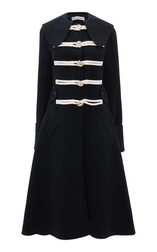 Rope-Detailed Wool Coat