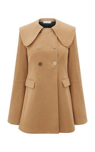 Cotton Velvet Double-Breasted Jacket