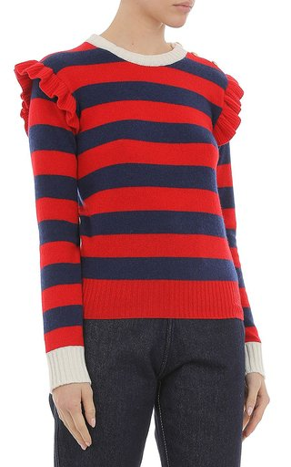 Wool Cashmere-Blend Sweater