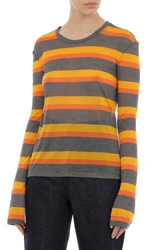 Striped Jersey Knit