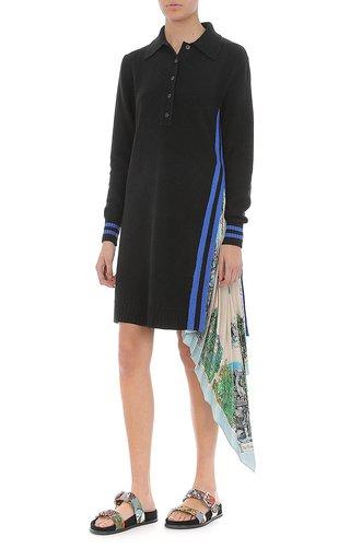 Extrafine Merino Wool Sweater Dress