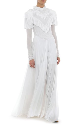 Jersey Long-Sleeve Gown