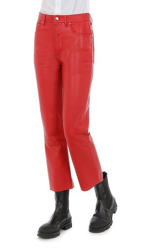 Nappa Leather Pants