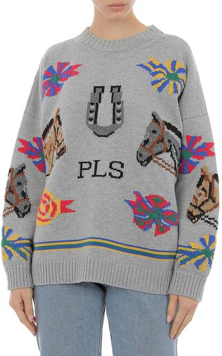 Extrafine Merino Wool Logo Sweater