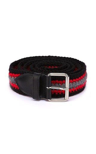 Woven Wool Belt