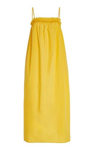 Ida Cotton Poplin Maxi Dress