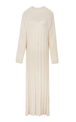 Ribbed-Knit Maxi Dress