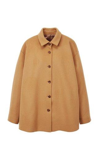 Oversized Wool-Blend Jacket