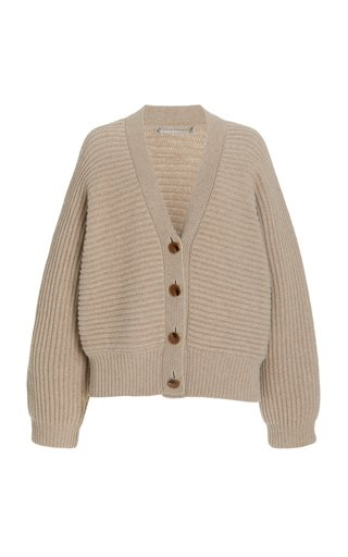 Forever Stella Oversized Cashmere-Wool Cardigan