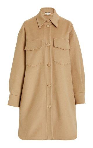 Kerry Oversized Wool Shirt Jacket