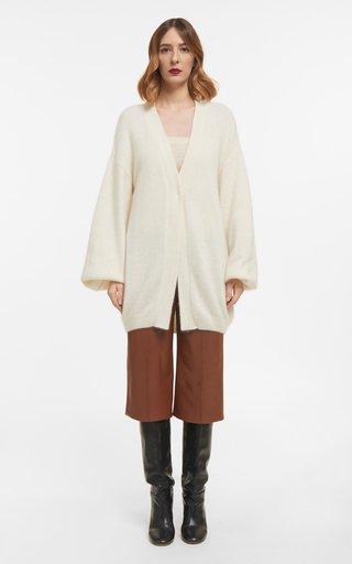 Estelle Mohair Knit Oversized Cardigan