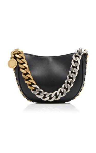 Frayme Small Faux Leather Shoulder Bag