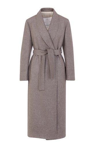 The Linda Shawl Collar Cashmere Robe
