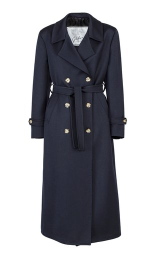 The Christie Wool Twill Trench Coat