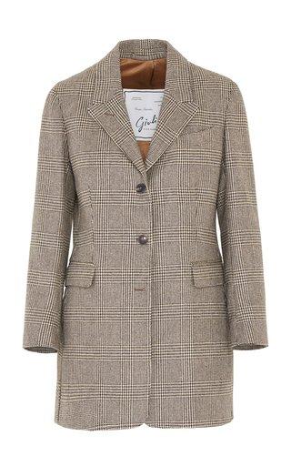 The Karen Wool Prince Of Wales Check Blazer