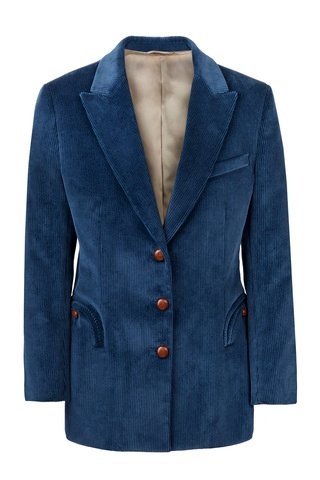Classic Touch Royal Tomboy Cotton Blazer