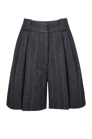 Ferien Fell Virgin Wool-Cashmere Shorts