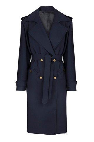First Class Virgin Wool-Mohair Coat