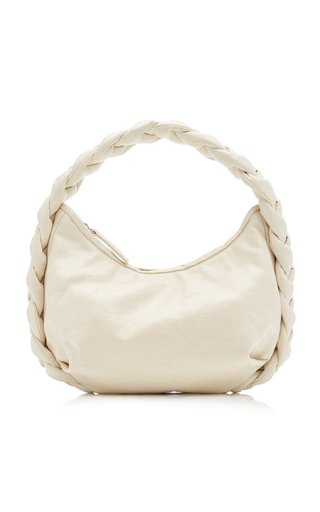 Espiga Braided Coated Canvas Shoulder Bag
