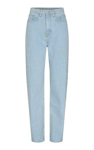 Betty Rigid Mid-Rise Straight-Leg Jeans